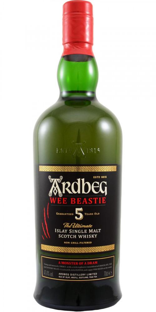 Ardbeg 5Yr Wee Beastie Islay Single Malt Scotch 750ml