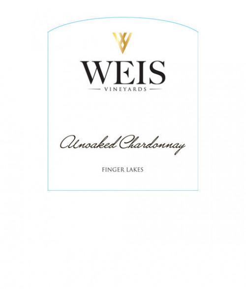 2020 Weis Unoaked Chardonnay 750ml