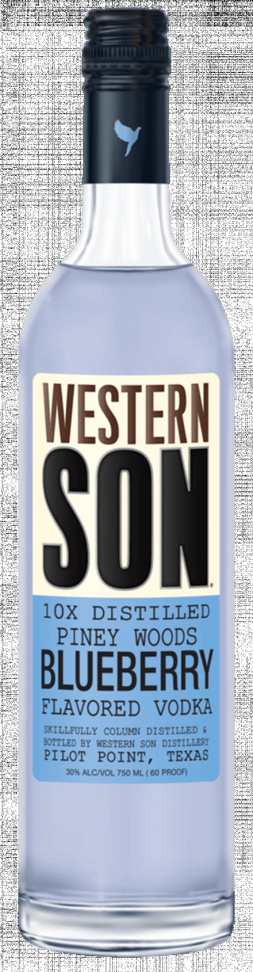 Western Son Blueberry Vodka 1L