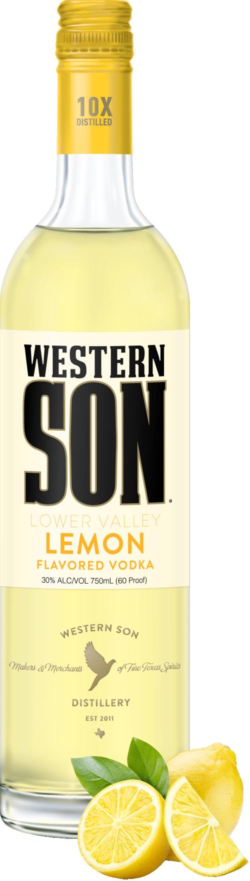 Western Son Lemon Vodka 1L