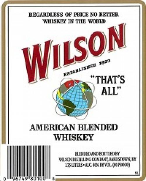 Wilson Whiskey 1L