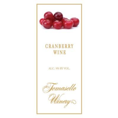 Tomasello Cranberry Wine 500ml