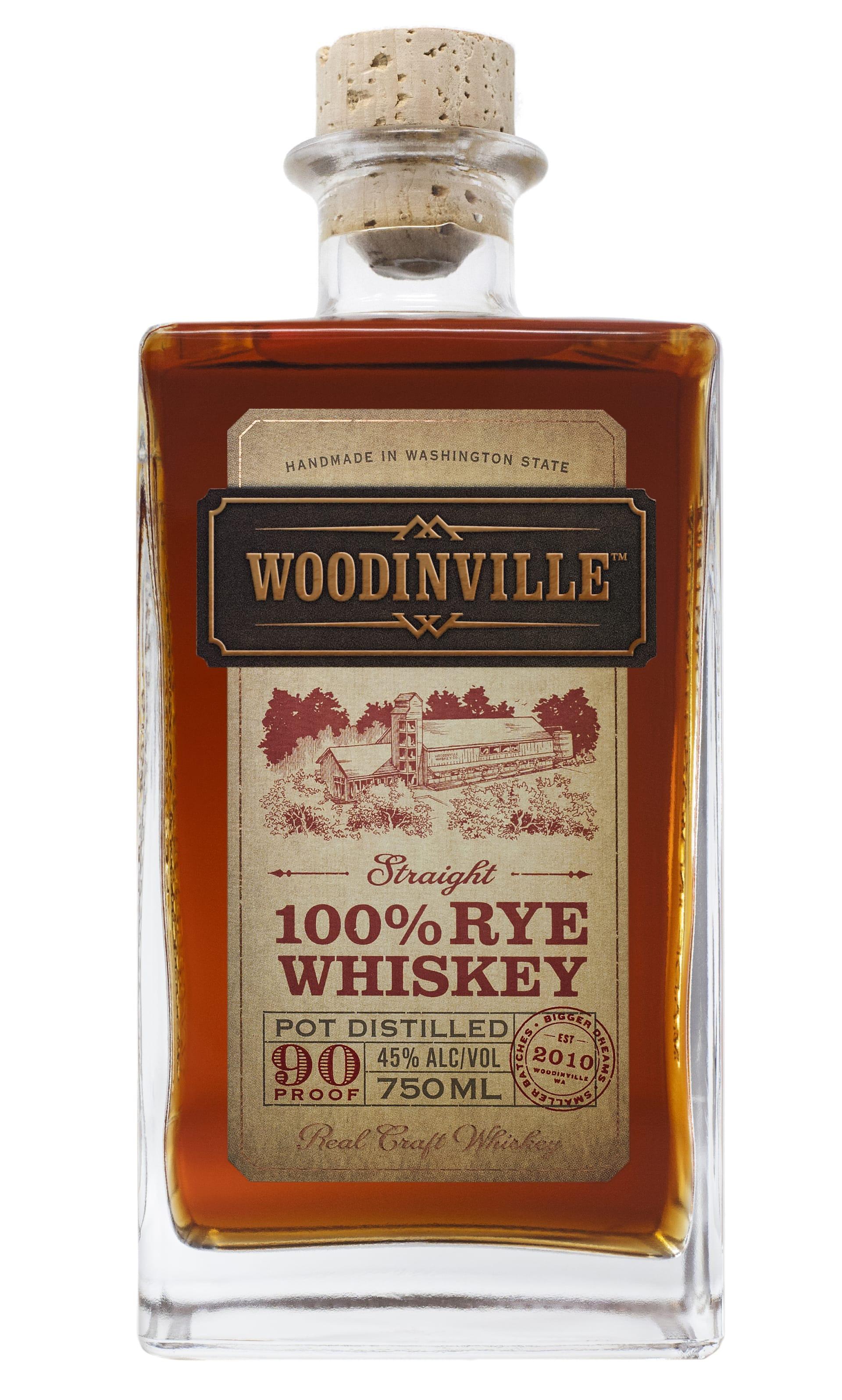 Woodinville Straight Rye 750Ml